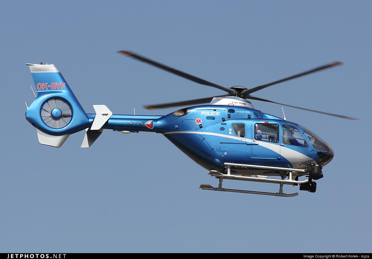 OK-BYF - Eurocopter EC 135T2+ - Czech Republic - Police