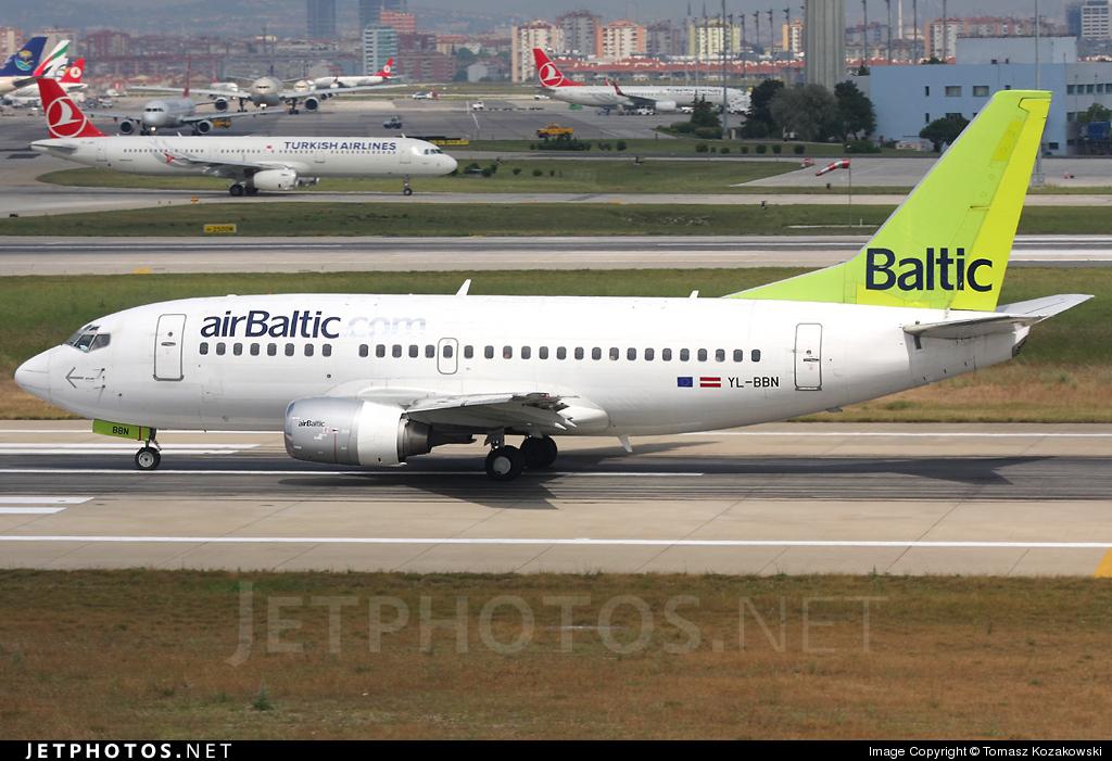 YL-BBN - Boeing 737-522 - Air Baltic