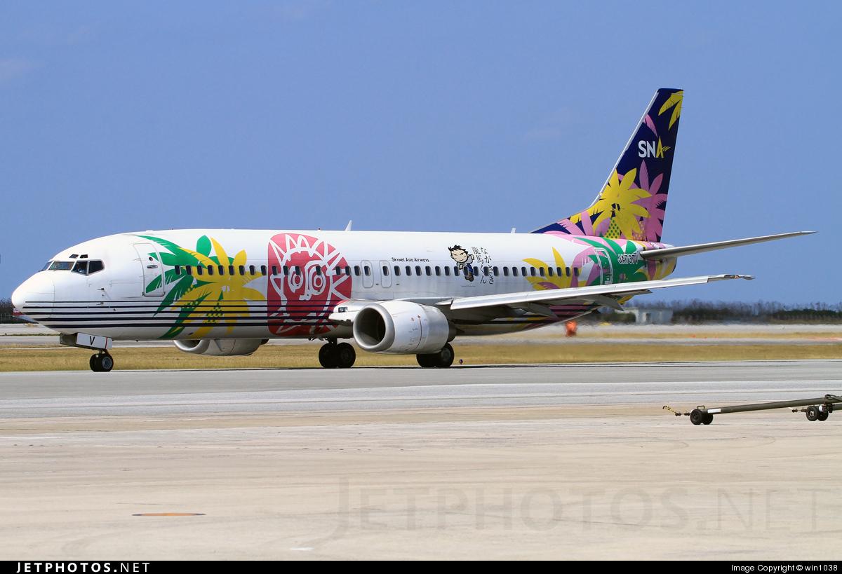 JA737V - Boeing 737-4M0 - Skynet Asia Airways