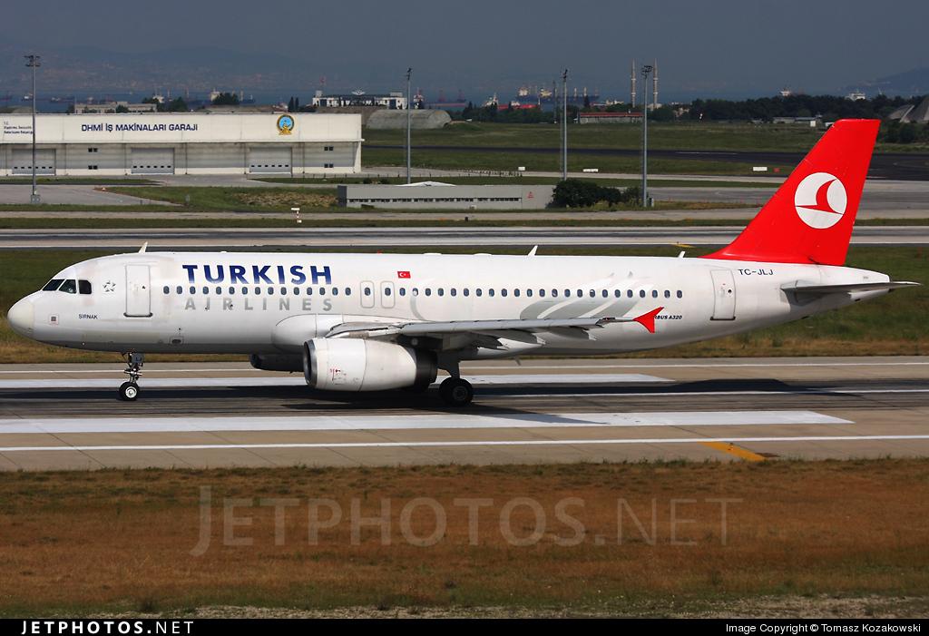 TC-JLJ - Airbus A320-232 - Turkish Airlines