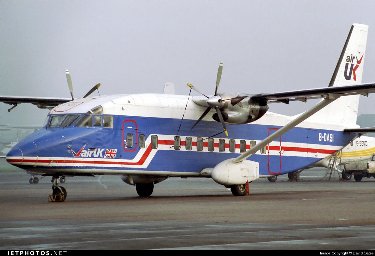 G-DASI - Short 360-100 - Air UK
