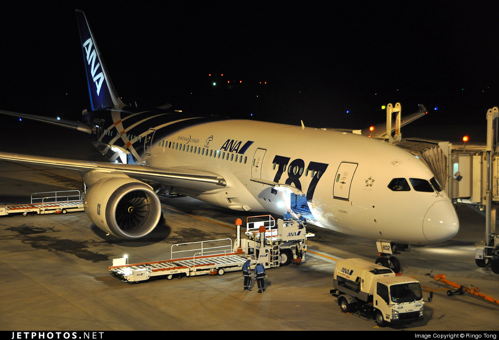 JA802A - Boeing 787-8 Dreamliner - All Nippon Airways (ANA)