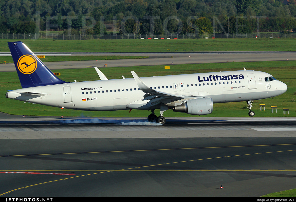 D-AIZP - Airbus A320-214 - Lufthansa