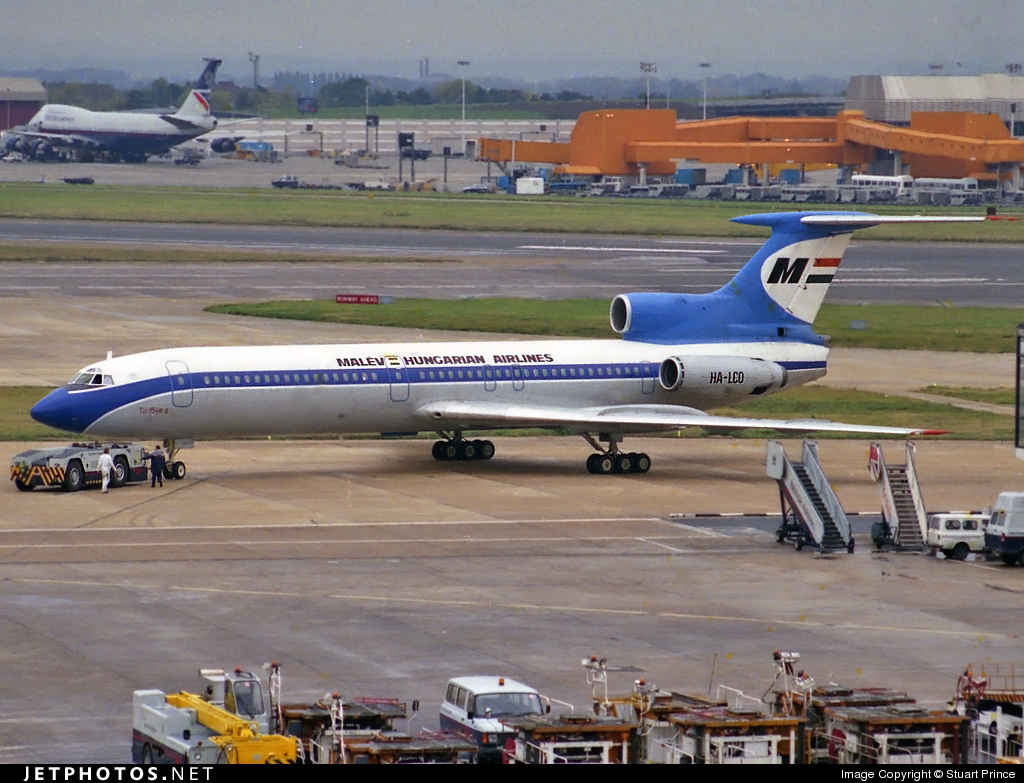 HA-LCO - Tupolev Tu-154B-2 - Malév Hungarian Airlines