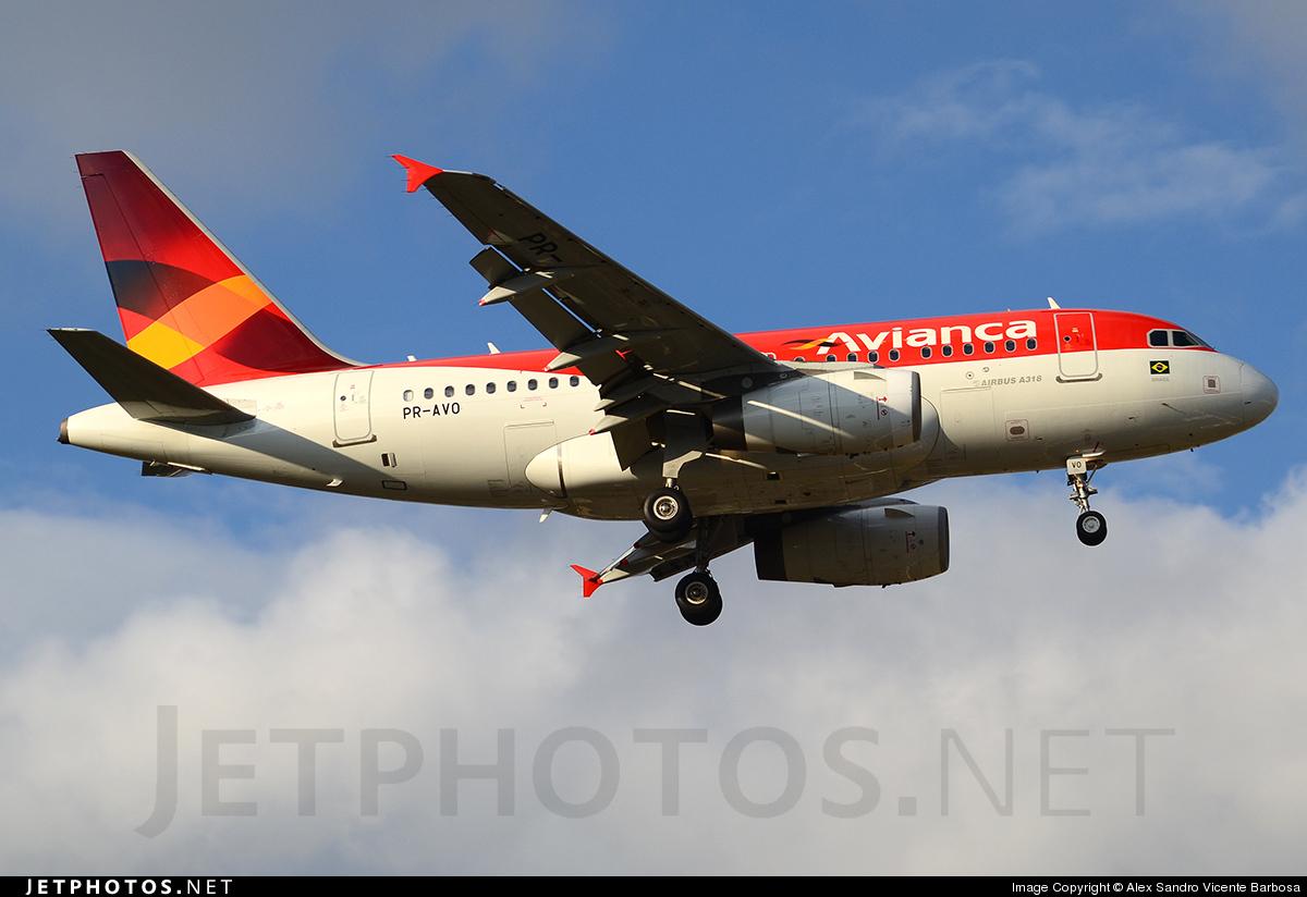 PR-AVO - Airbus A318-121 - Avianca Brasil
