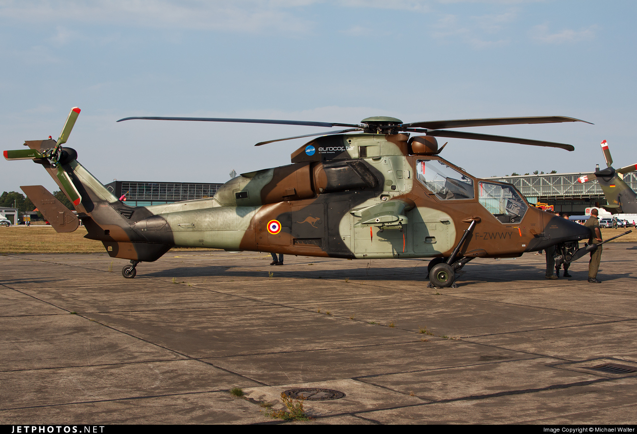 F-ZWWY - Eurocopter Tiger HAP - France - Army