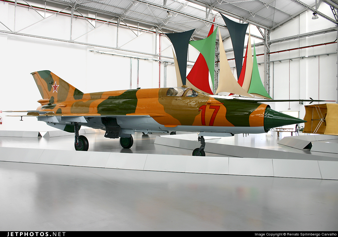 17 - Mikoyan-Gurevich MiG-21MF Fishbed J - Russia - Air Force