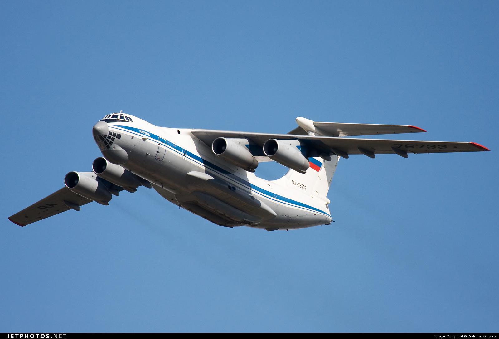 RA-76733 - Ilyushin IL-76MD - Russia - Air Force