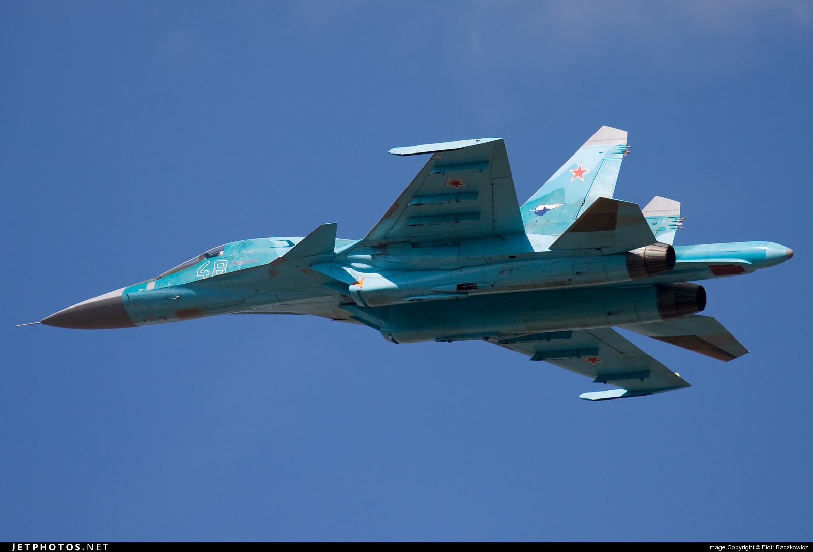 48 - Sukhoi Su-34 Fullback - Russia - Air Force