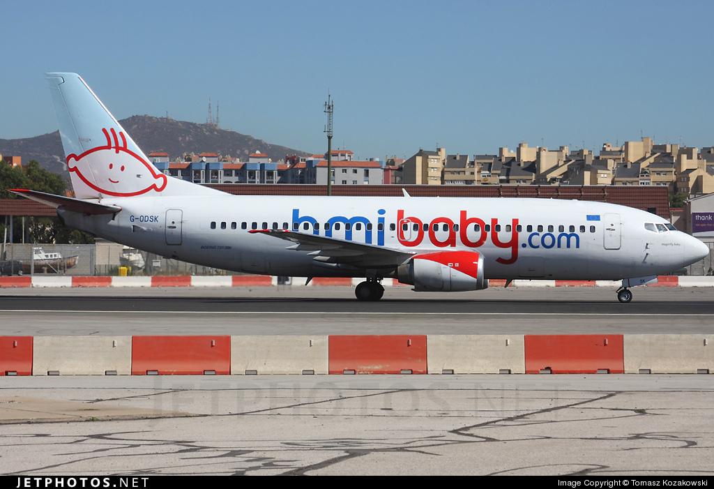 G-ODSK - Boeing 737-37Q - bmibaby