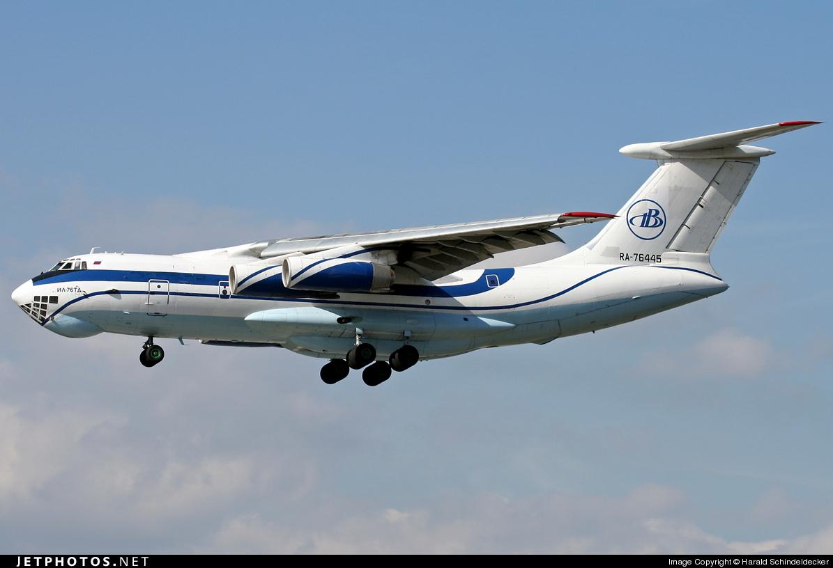 RA-76445 - Ilyushin IL-76TD - Gazpromavia