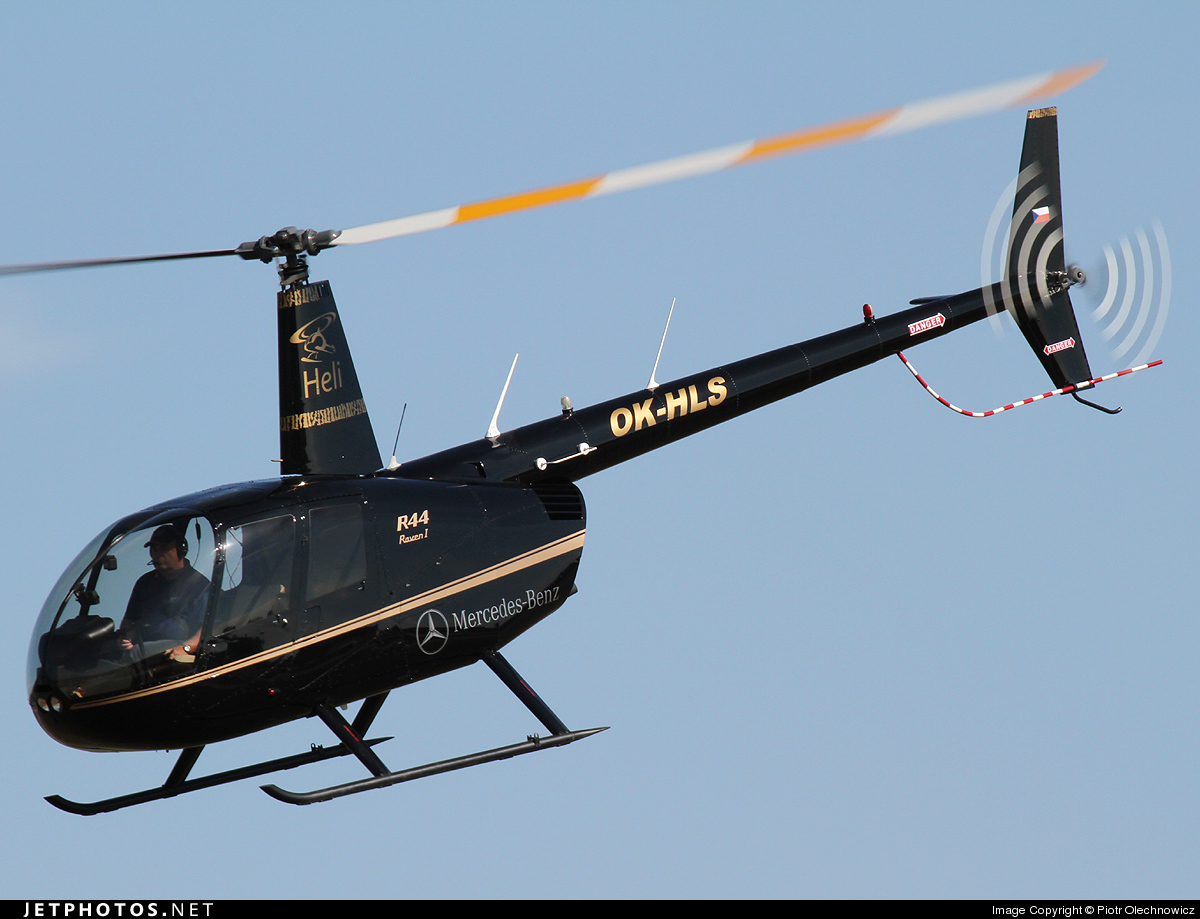 OK-HLS - Robinson R44 Raven - Private