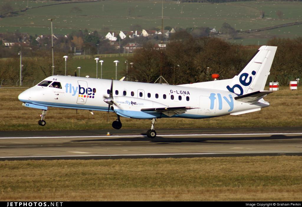 G-LGNA - Saab 340B - Flybe (Loganair)