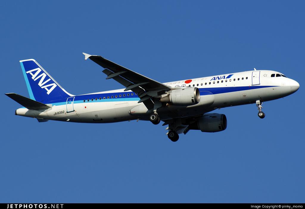 JA8392 - Airbus A320-211 - All Nippon Airways (ANA)