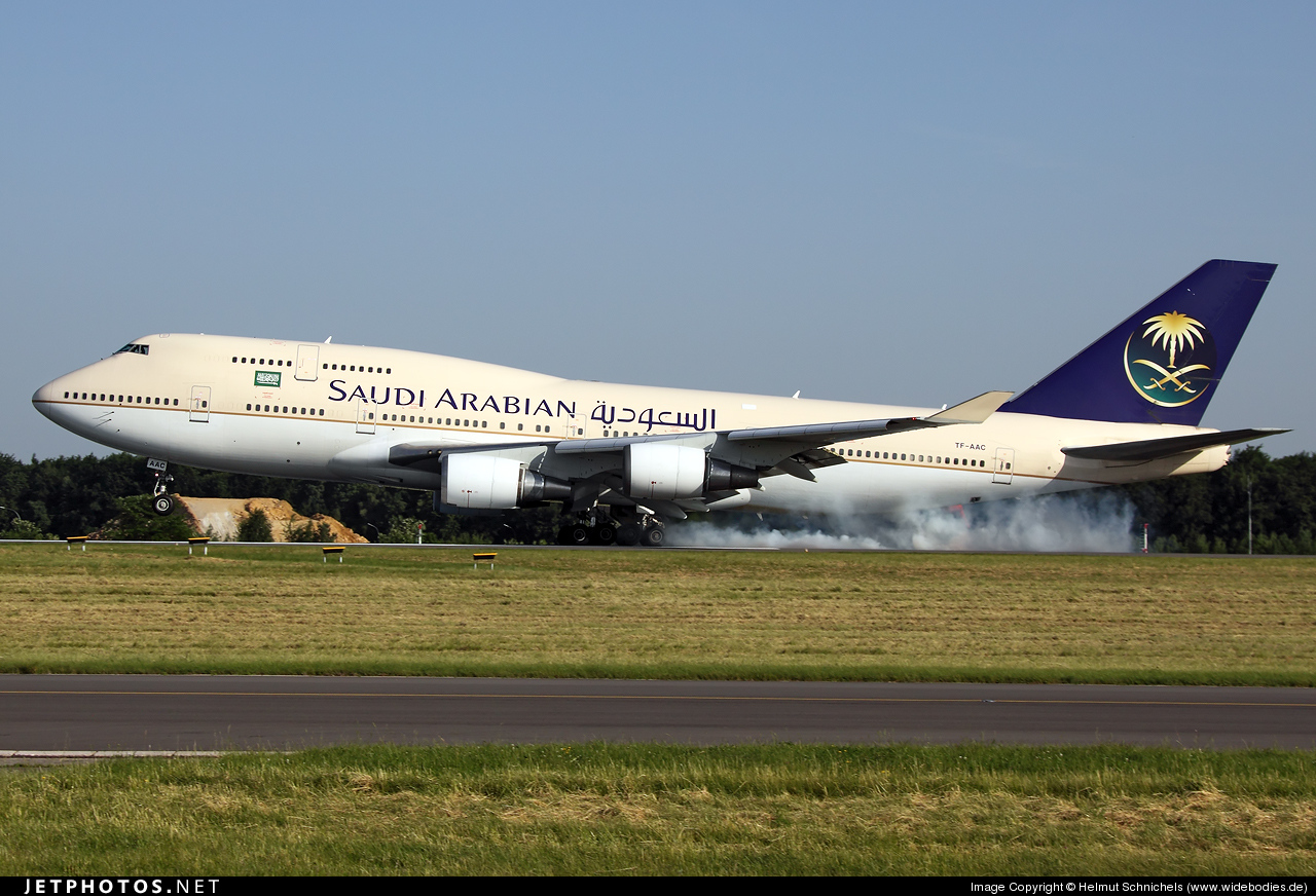 TF-AAC - Boeing 747-481 - Saudi Arabian Airlines (Air Atlanta Icelandic)