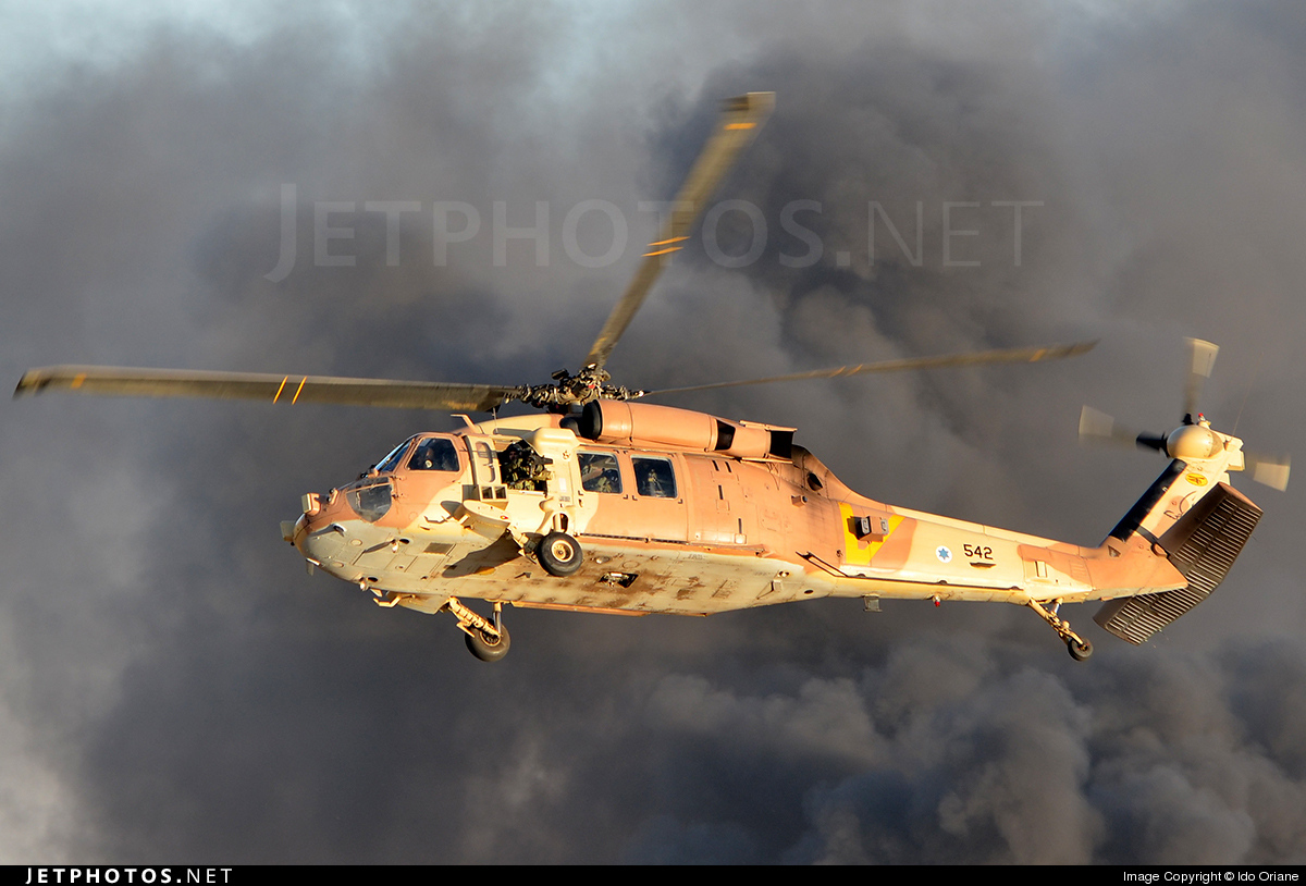 542 - Sikorsky S-70A-55 Yanshuf 3 - Israel - Air Force