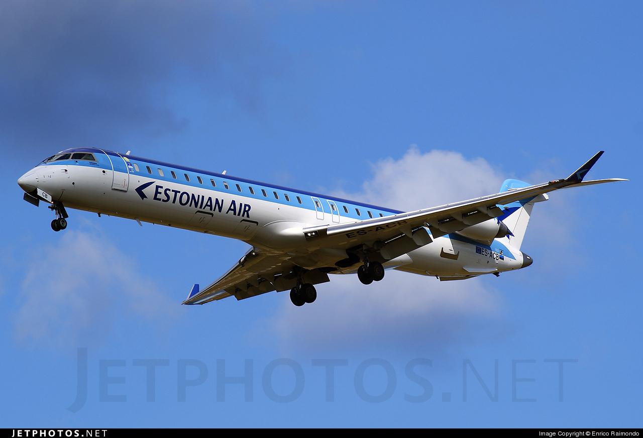 ES-ACB - Bombardier CRJ-900ER - Estonian Air