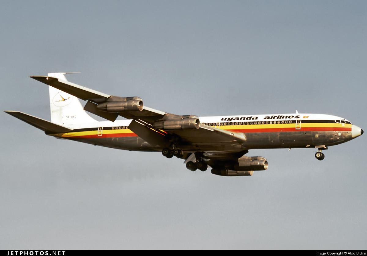 5X-UAC - Boeing 707-351C - Uganda Airlines
