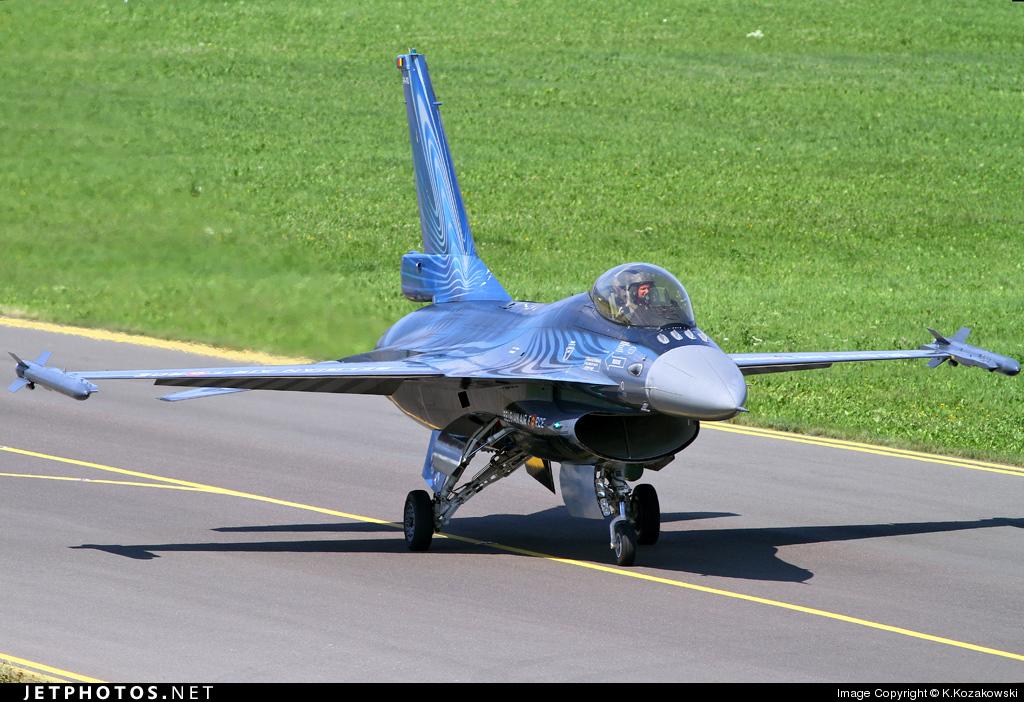 FA-110 - General Dynamics F-16AM Fighting Falcon - Belgium - Air Force