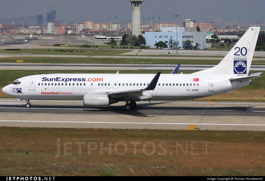 TC-SUM - Boeing 737-85F - SunExpress
