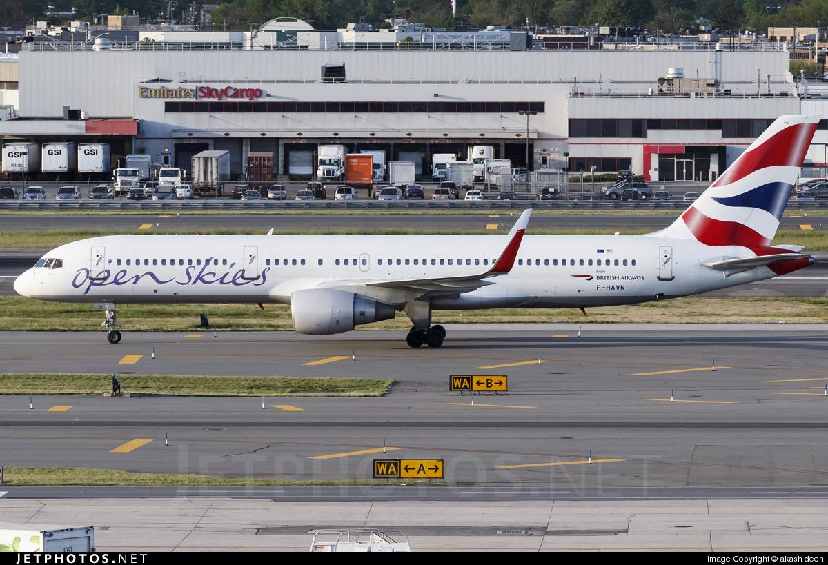 F-HAVN - Boeing 757-230 - Open Skies (British Airways)
