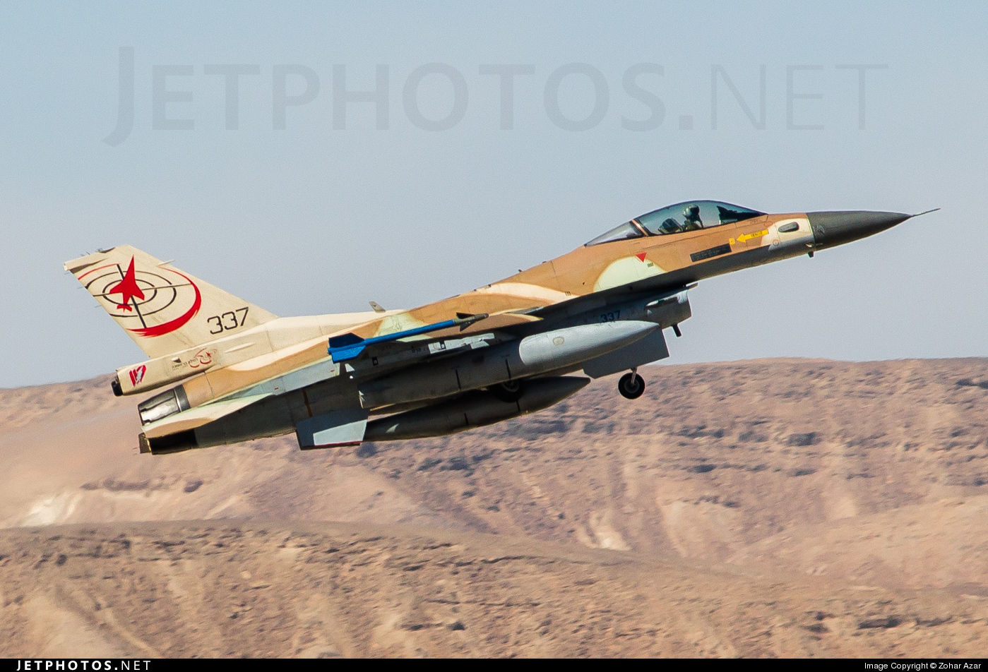 337 - Lockheed Martin F-16C Barak - Israel - Air Force