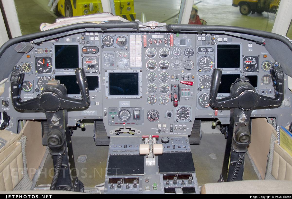 F-GBTM - Dassault Falcon 20F - Meteo France