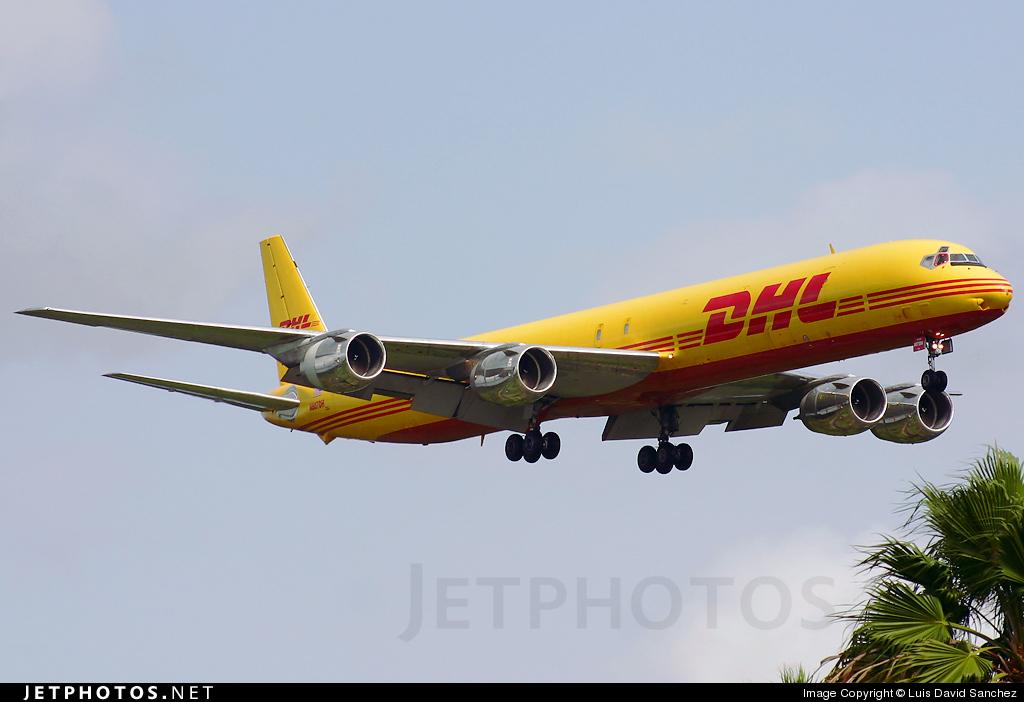 N807DH - Douglas DC-8-73(F) - DHL (ASTRA Air Cargo)