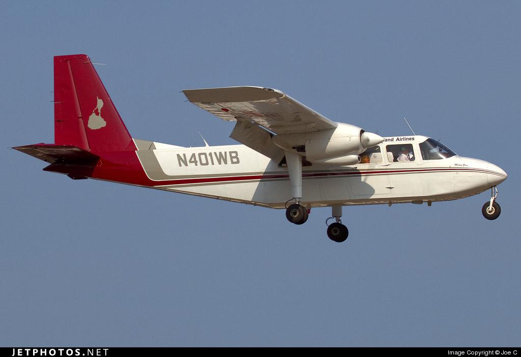 N401WB - Britten-Norman BN-2A-26 Islander - New England Airlines
