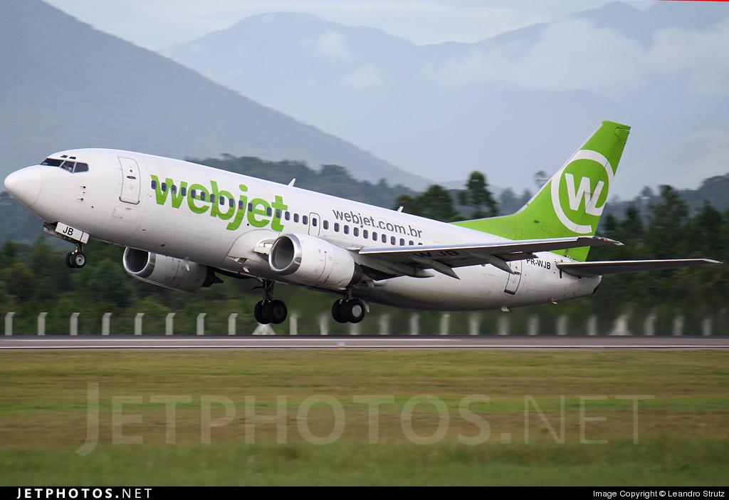 PR-WJB - Boeing 737-341 - WebJet Linhas Aéreas