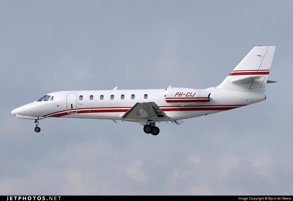 PH-CIJ - Cessna 680 Citation Sovereign - Private