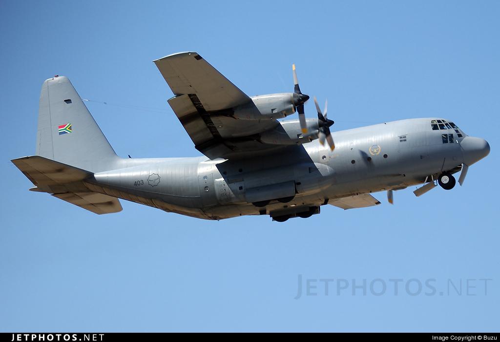 403 - Lockheed C-130B Hercules - South Africa - Air Force