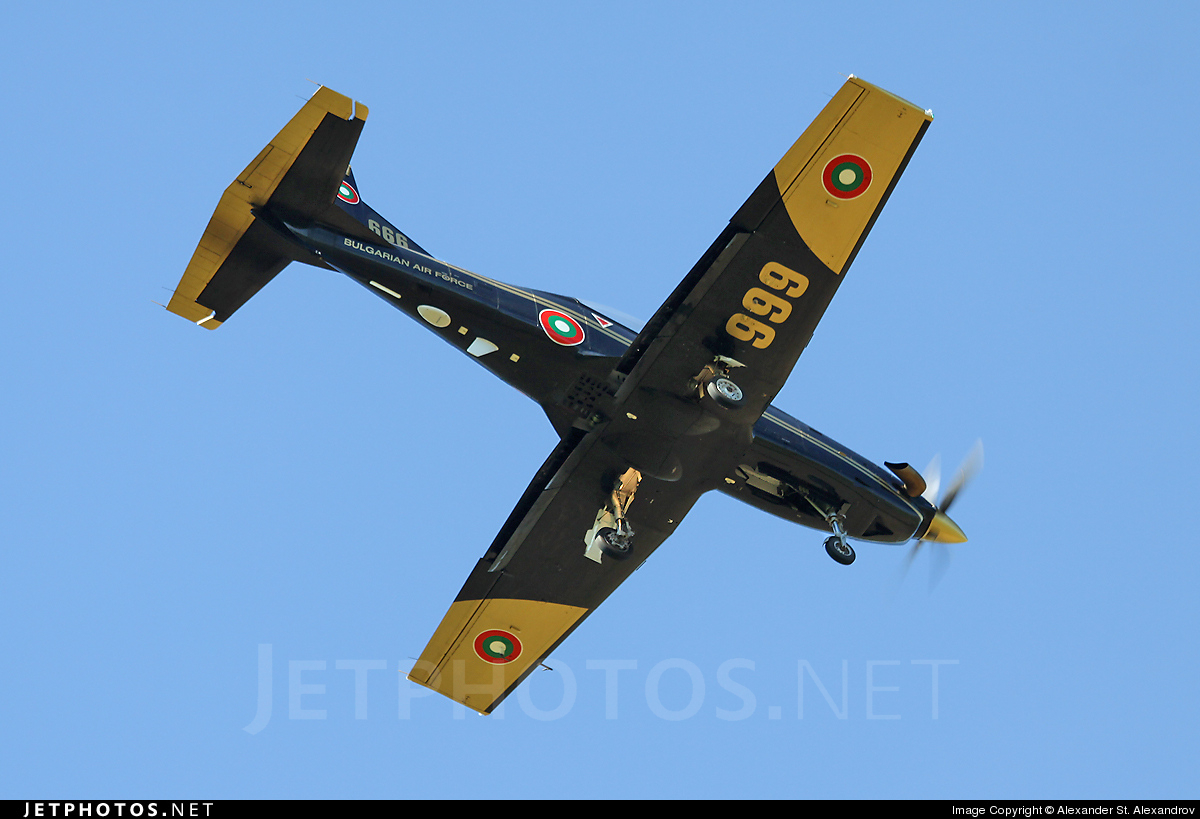 666 - Pilatus PC-9M - Bulgaria - Air Force