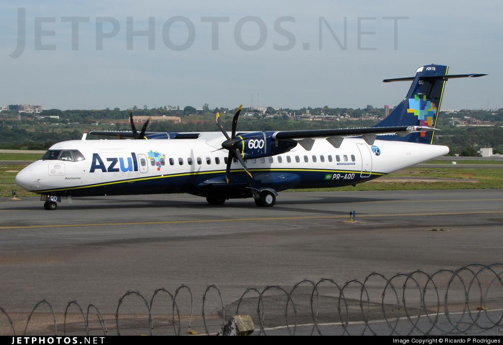 PR-AQD - ATR 72-212A(600) - Azul Linhas Aéreas Brasileiras