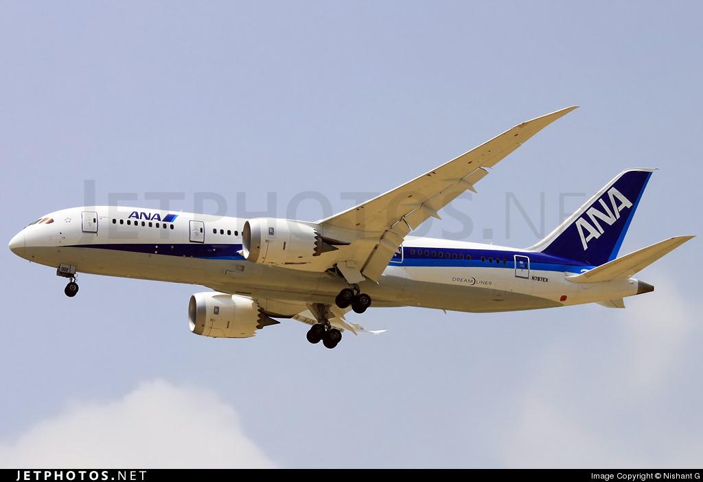 N787EX - Boeing 787-8 Dreamliner - Boeing Company