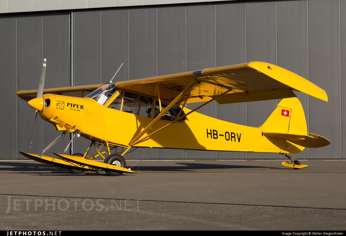 HB-ORV - Piper PA-18-150 Super Cub - Groupement de Vol à Moteur Lausanne