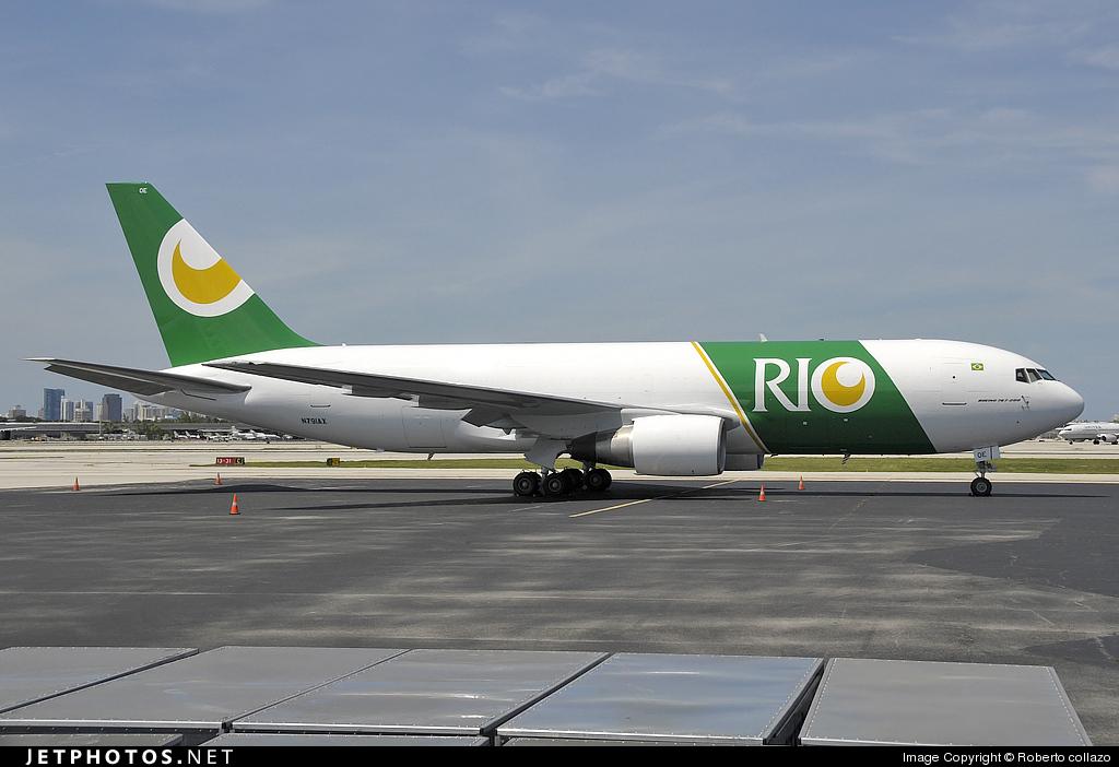 N791AX - Boeing 767-281(BDSF) - Rio Linhas Aéreas