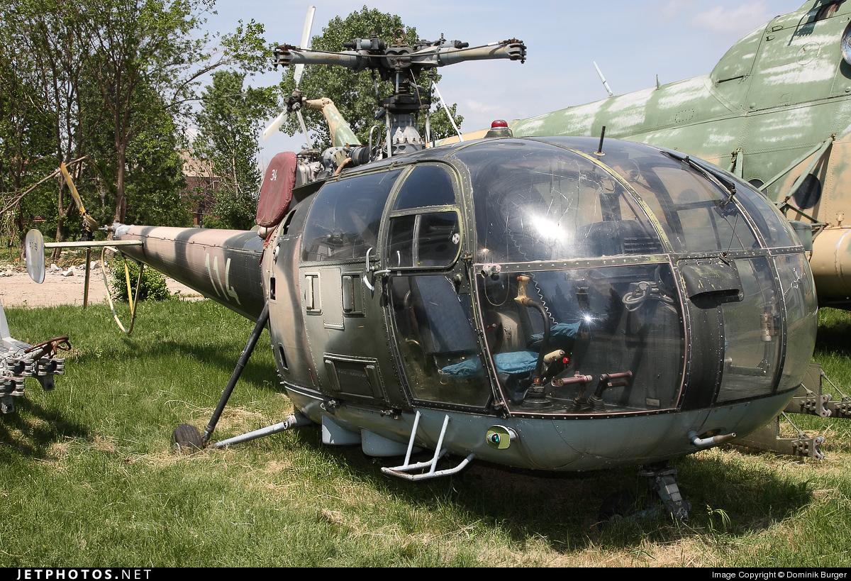 114 - IAR-316B - Romania - Air Force