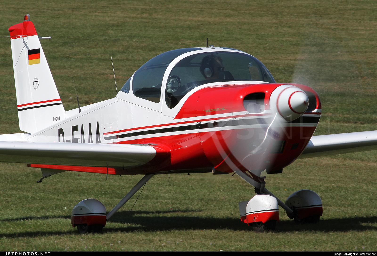 D-EAAA - Bolkow Bo.209 Monsun 150RV - Private