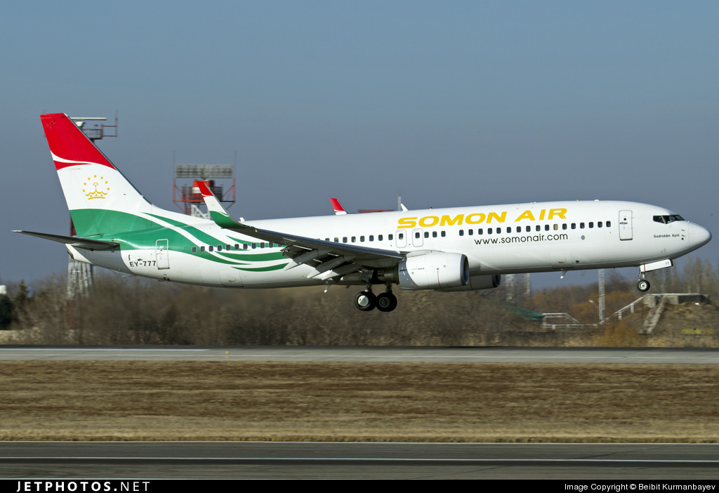 EY-777 | Boeing 737-8GJ | Somon Air | Beibit Kurmanbayev | JetPhotos