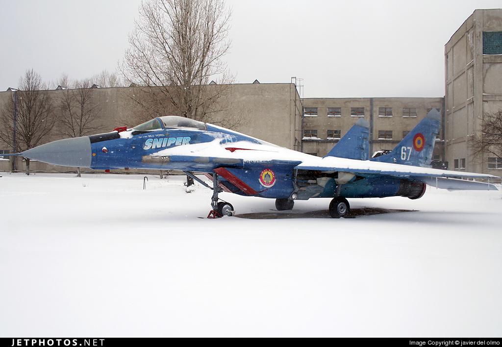 67 - Mikoyan-Gurevich MiG-29 Fulcrum - Romania - Air Force