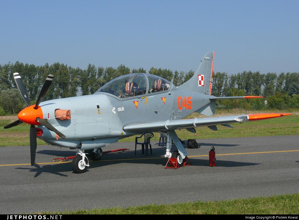 045 - PZL-Warszawa PZL-130 TC1 Orlik - Poland - Air Force