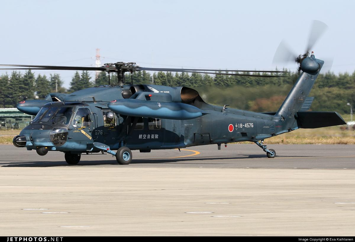18-4576 - Mitsubishi UH-60J - Japan - Air Self Defence Force (JASDF)