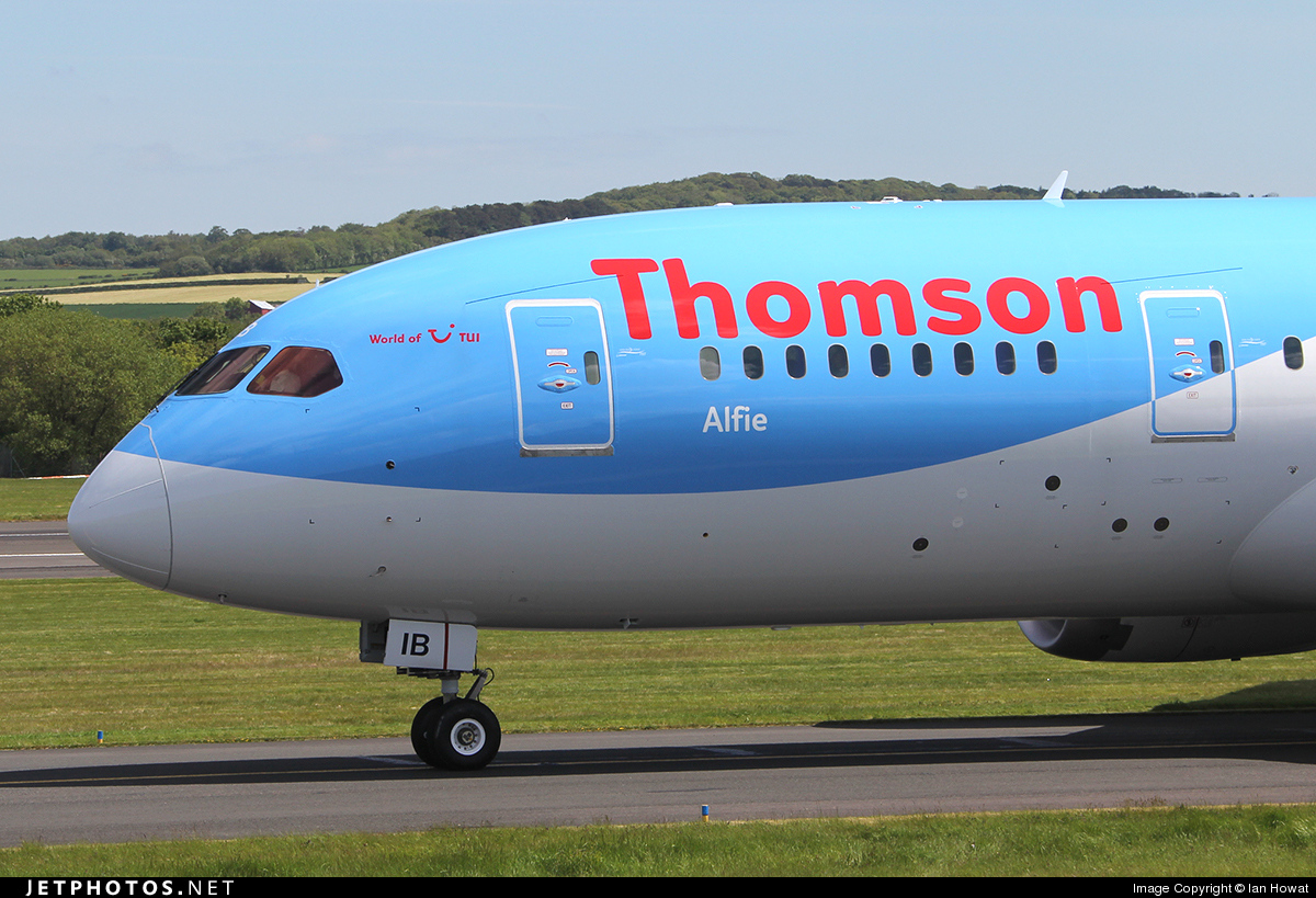 G-TUIB | Boeing 787-8 Dreamliner | Thomson Airways | Ian Howat ...
