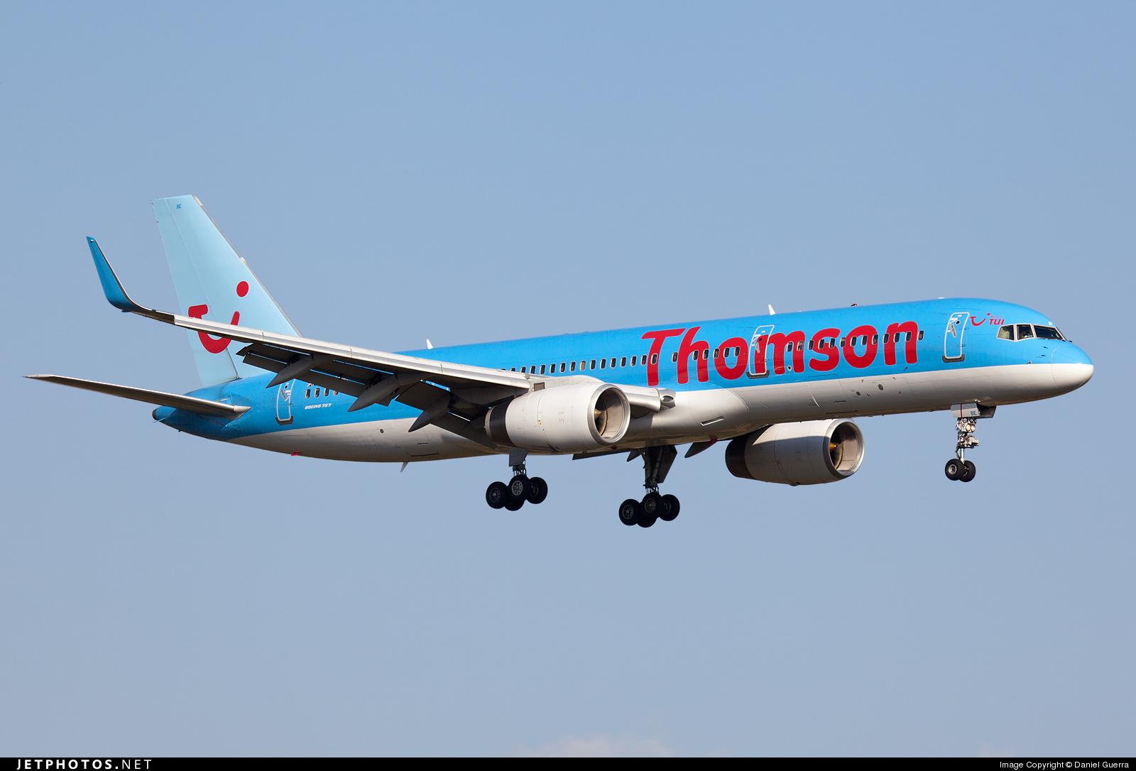G-OOBE - Boeing 757-28A - Thomson Airways
