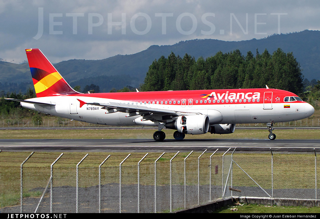 N789AV - Airbus A320-214 - Avianca