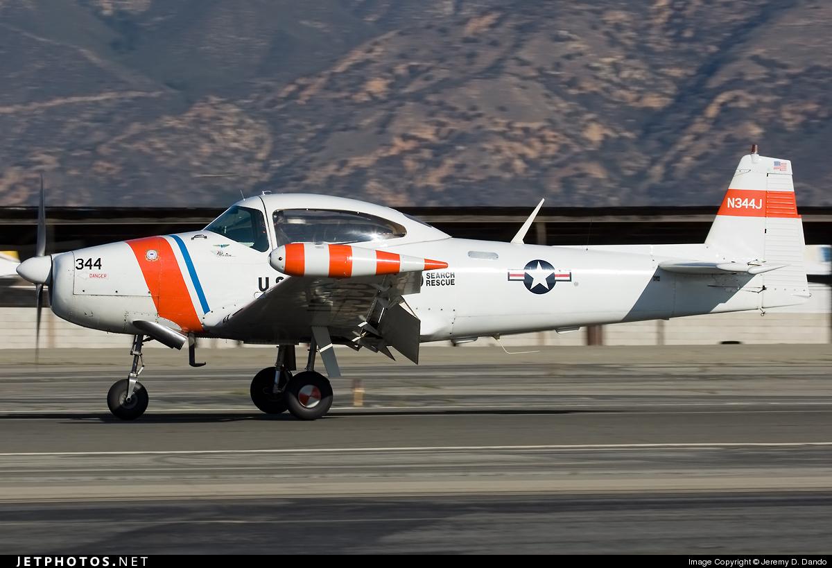N344J - North American Navion A - Private