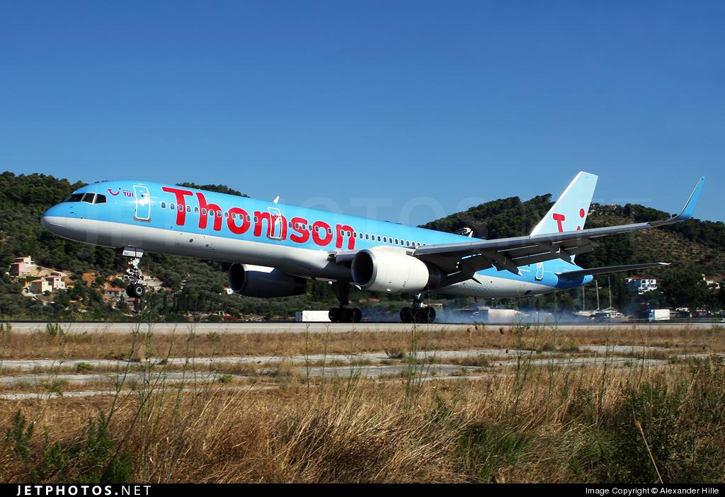 G-OOBC - Boeing 757-28A - Thomson Airways