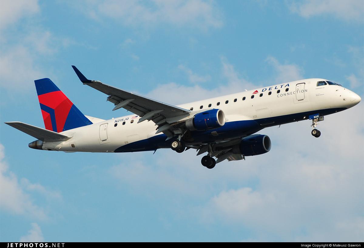 N215JQ - Embraer 170-200LR - Delta Connection (Shuttle America)