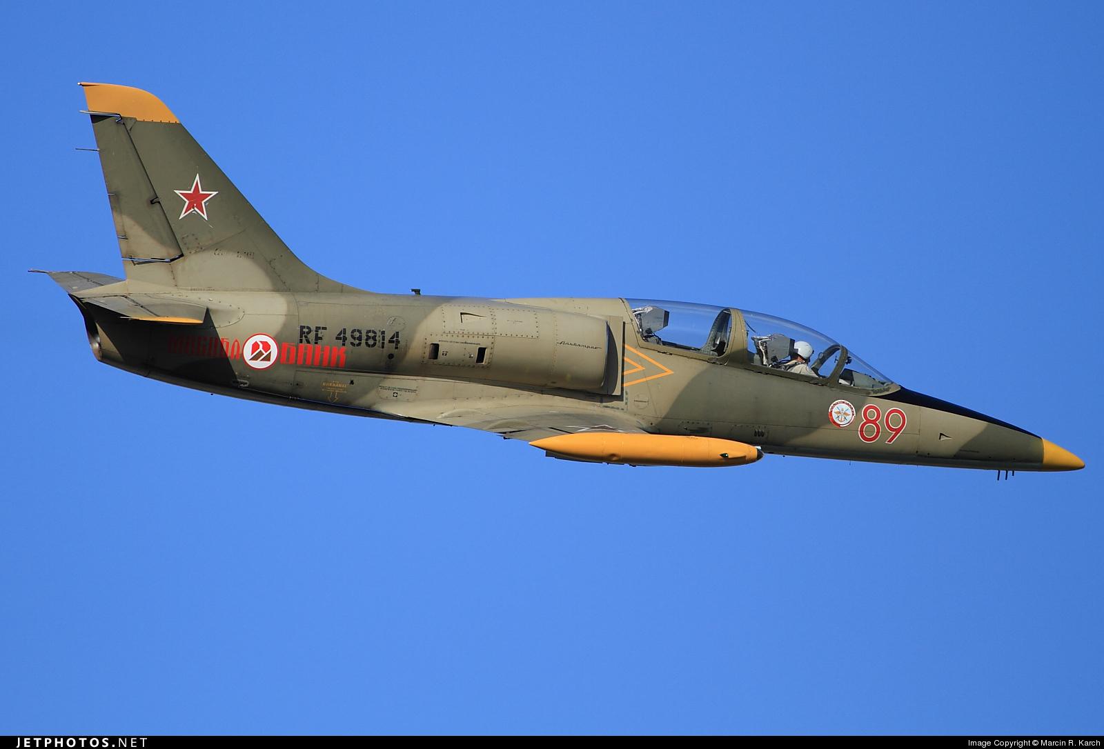 RF-49814 - Aero L-39C Albatros - Russia - Defence Sports-Technical Organisation (ROSTO)